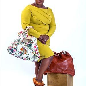 Gucci  Horsebit Hobo Floral Princess Grace handbag